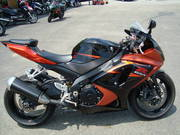 Orange 2007 Suzuki GSX-R 1000!