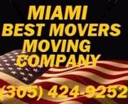 Miami Best Movers Moving Company, (305) 424-9252, Your Local Movers.