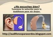 Audifonos para sordos y Reparaciones