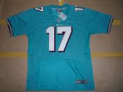 2012 Nike Ryan Tannehill #17 Miami Dolphins #15 #91 Green Elite Jersey