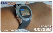 New Watch Phone Wrist Cell Mobile TEDACOS GSM Unlock
