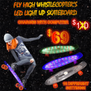 Premium Quality LED Skateboard