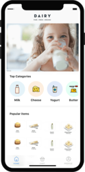 Develop a Milk Delivery App for Dairy